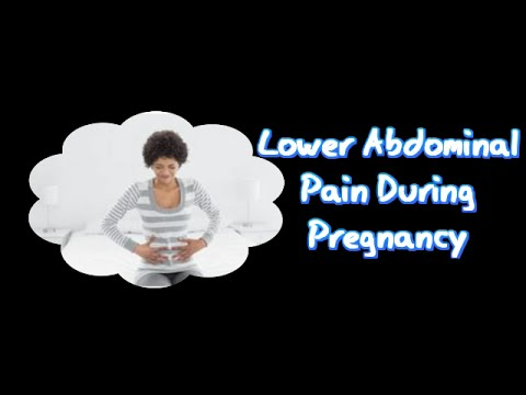Dull period like pain in early pregnancy