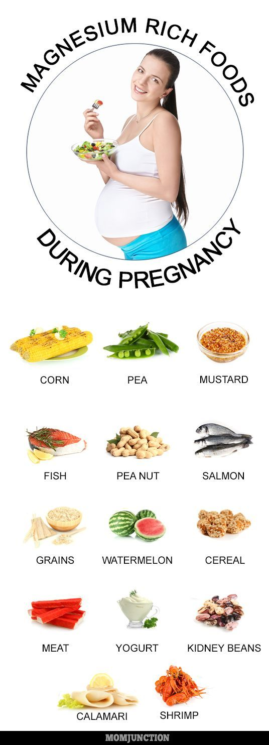 Magnesium in Your Diet in Pregnancy