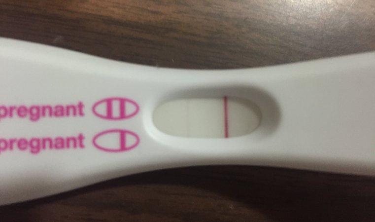 Faint Line On Pregnancy Test 1