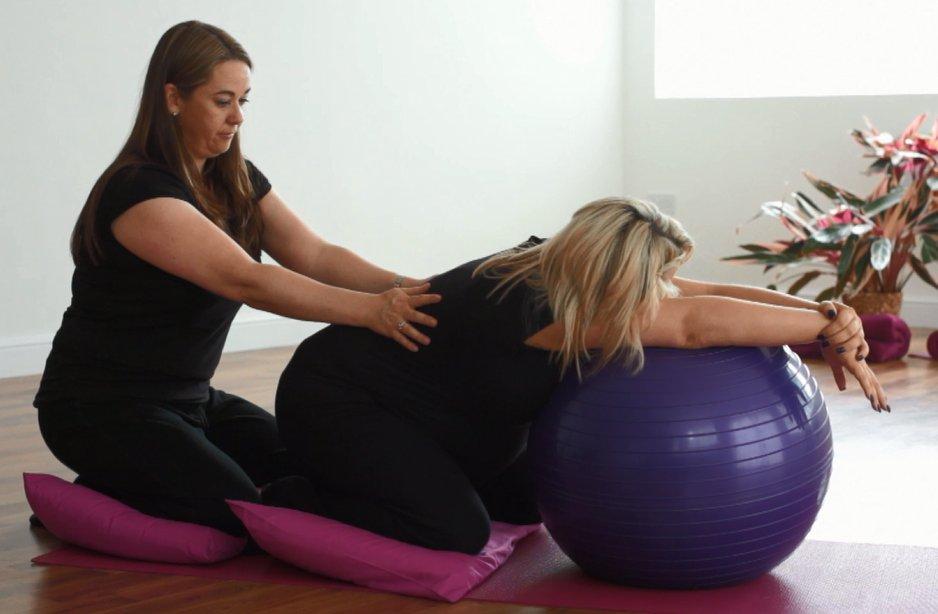 Pregnancy Yoga 4