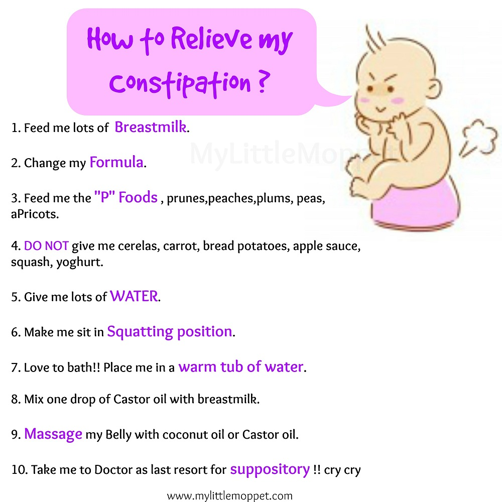 Constipation In Infants