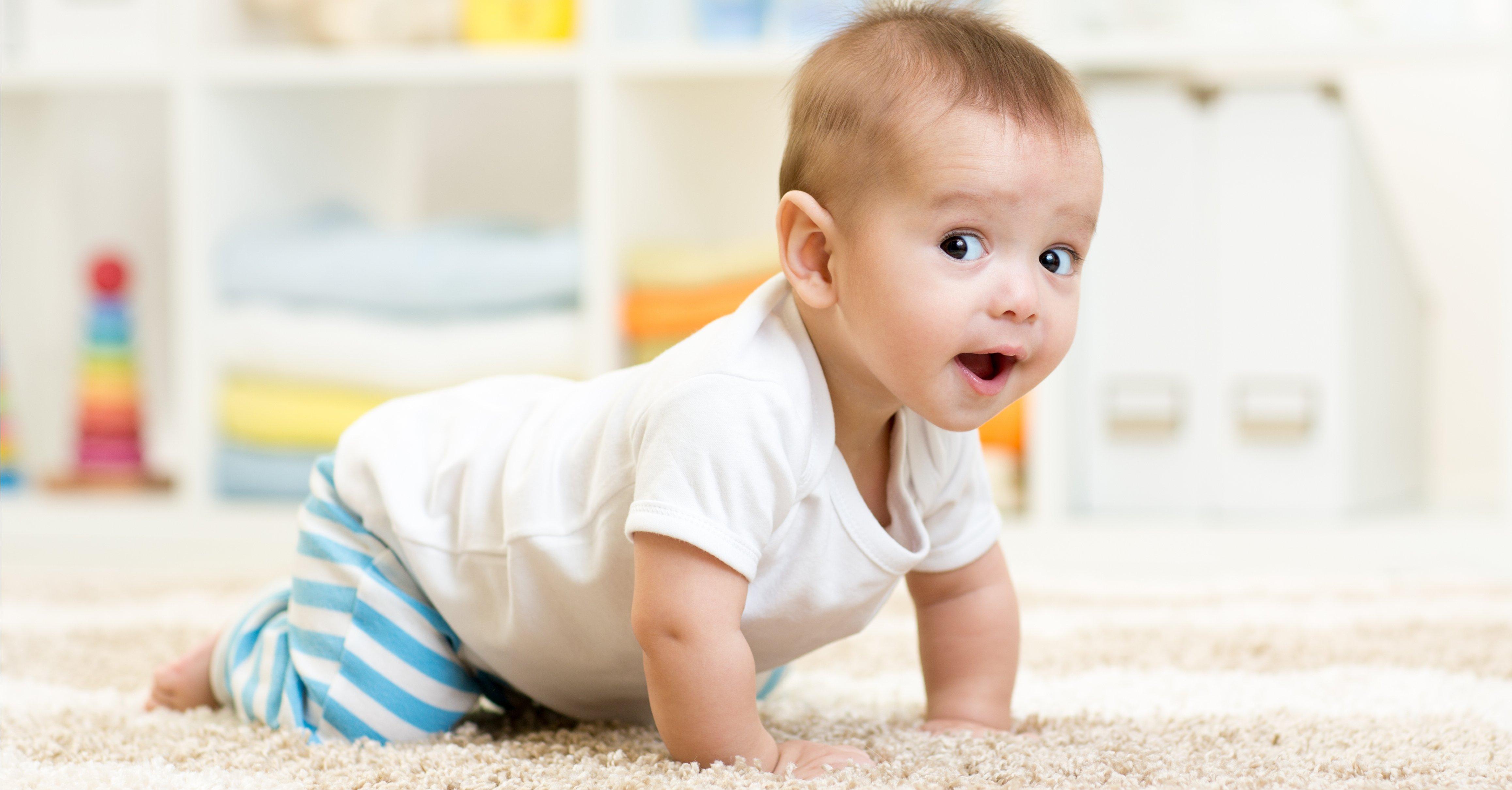 When Do Babies Start Crawling 1