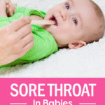 Sore Throat In Babies