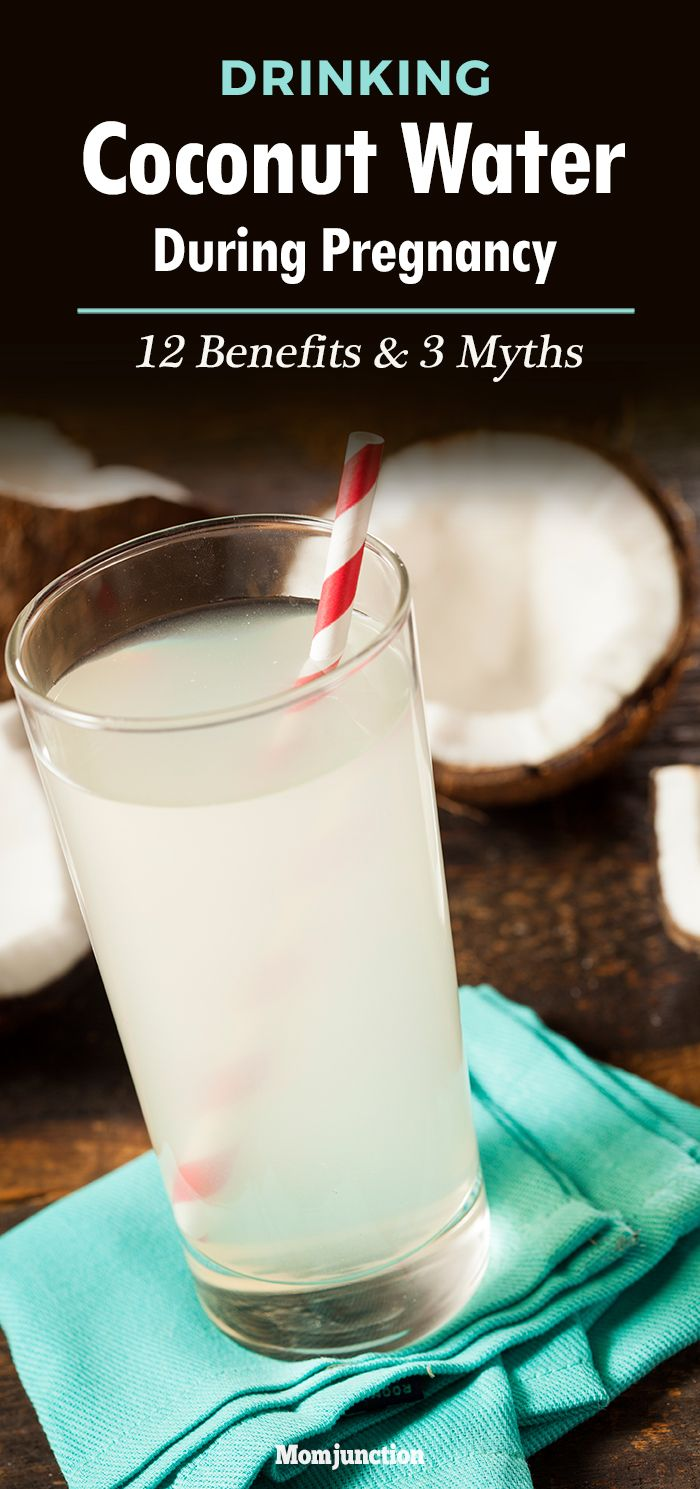 Drinking Coconut Water During Pregnancy: Benefits