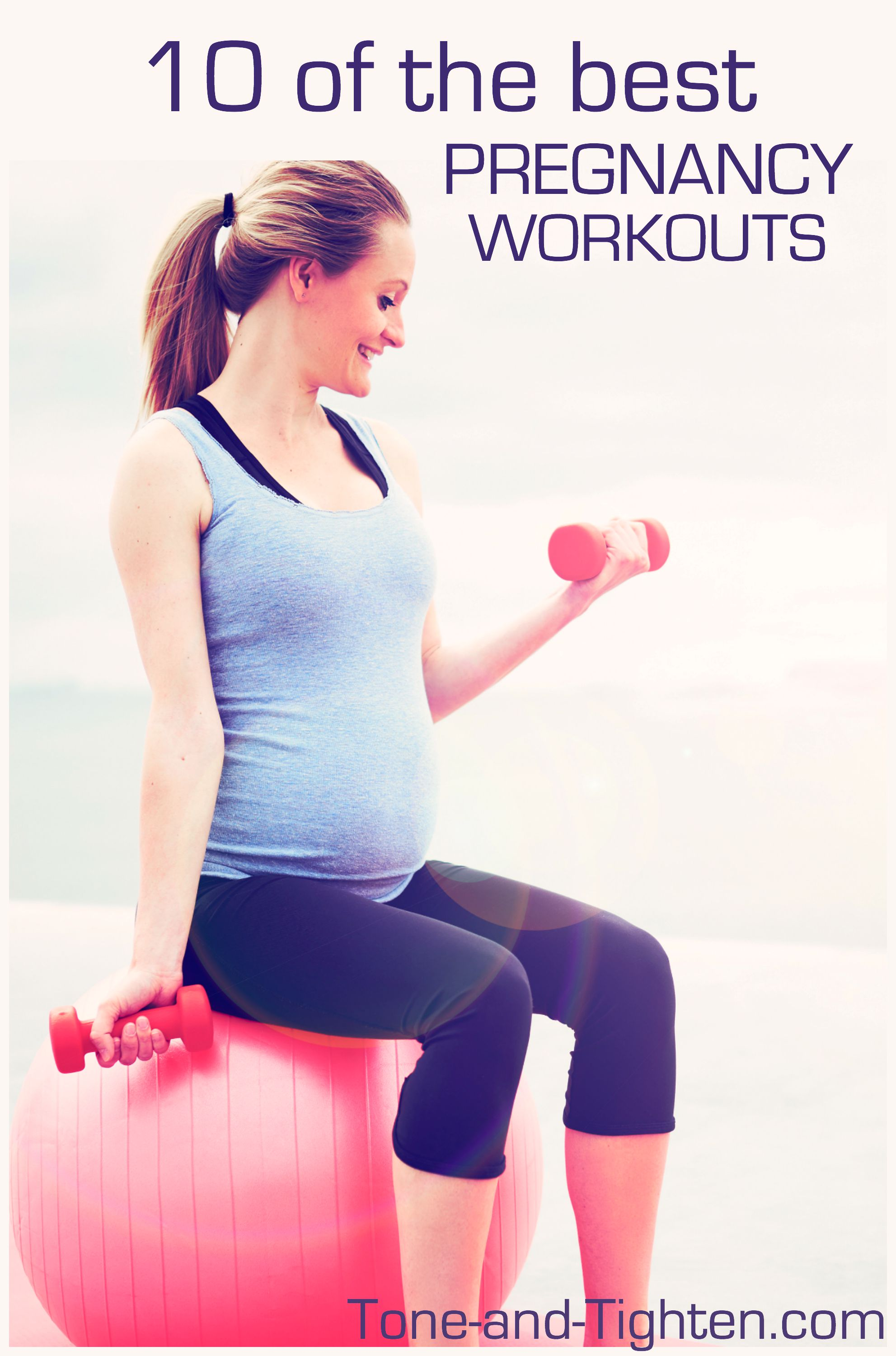 best pregnancy workouts