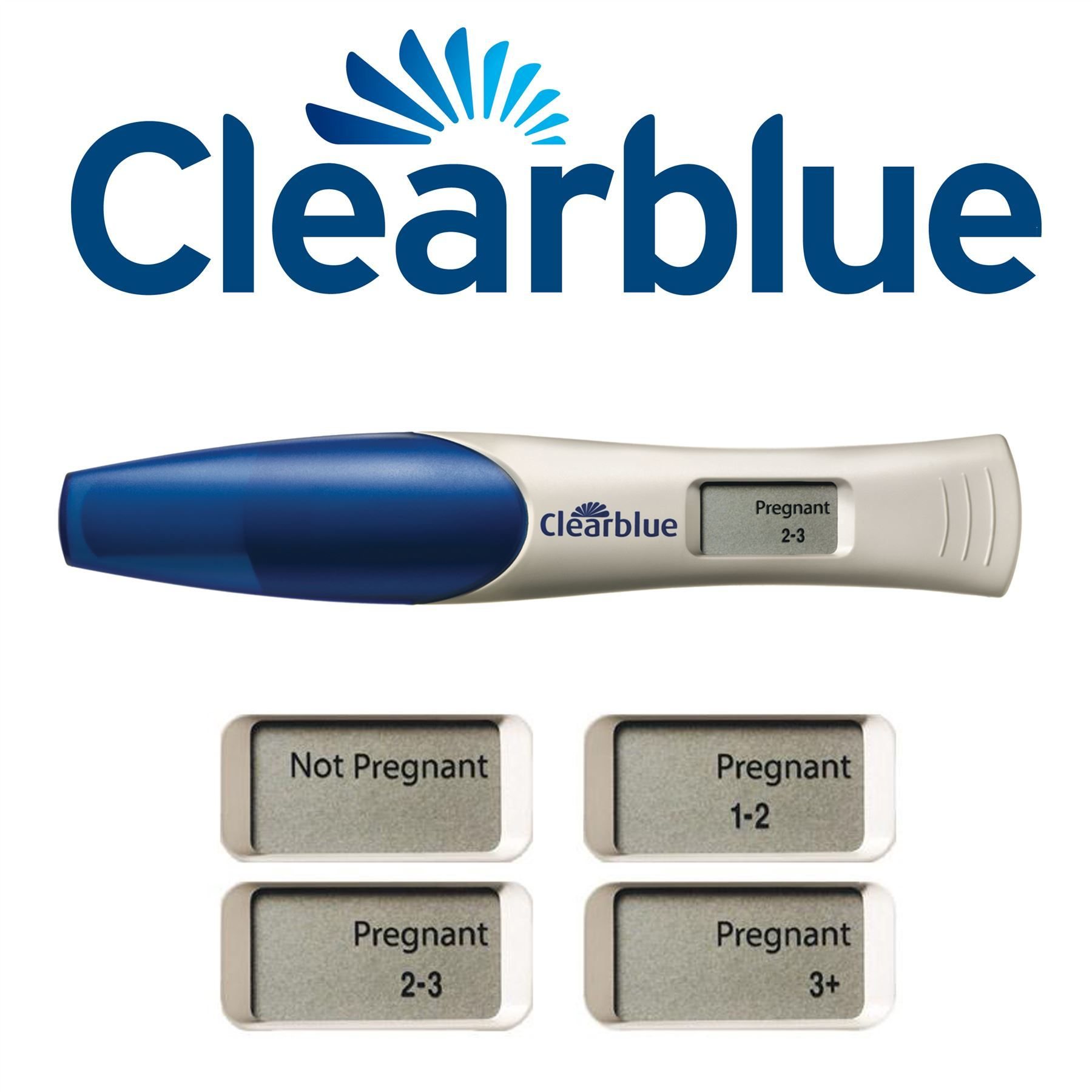 clearblue test says 1 2 weeks pregnant