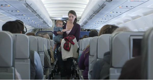 air travel with 2 month old baby